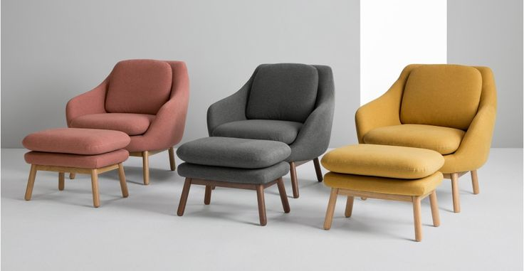 Oslo, fauteuil d'appoint, jaune d'or | made.com