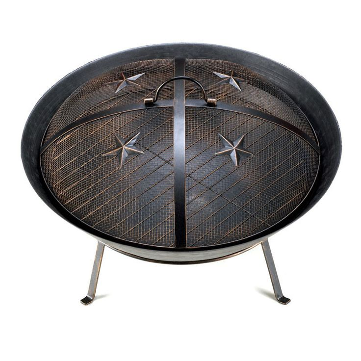 The Range Fire Pit Part - 40: Whether Your Home Is On The Range Or A Little More Suburban, This Iron  Western-style Fire Pit Will Keep You Warm As You Enjoy A Night Under The  Stars.