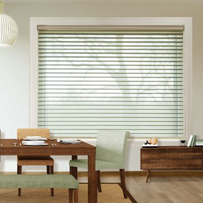 Tropical Blinds  Tropical Blinds brings together style and functionality in the form of this Tri-Shade venetian blind. It's a lovely, modern way to update a window treatment.  www.tropicalblinds.com