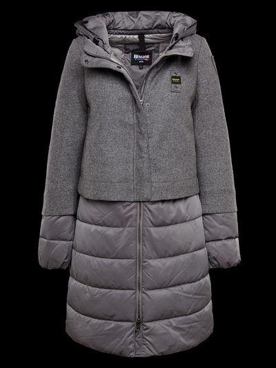 Grey down coat | Blauer