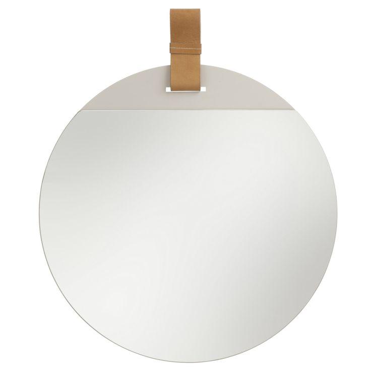 Enter spegel från Ferm Living, formgiven av Søren Rose. Den ultimata spegel…
