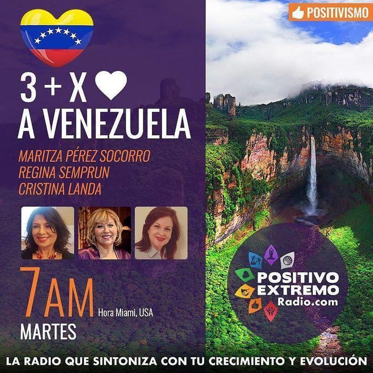 """Hoy estaremos conversando con tres hermosas y profesionales mujeres desde Miami por la emisora  PositivoExtremoRadio.com sobre """"El Orgullo de Ser Venezolano"""" a las 7:00am hora de Venezuela.  Si estás en #LosAngeles #miami o cualquier parte del mundo sintoniza http://ift.tt/2dbtkjc y recuerda nuestro gentilicio vivencias y ese amor profundo por esta tierra maravillosa.  Esta entrevista es un preámbulo a nuestra edición Agosto 2017 de la Revista Digital Publiciudadmcy y lograda a través de la…"""