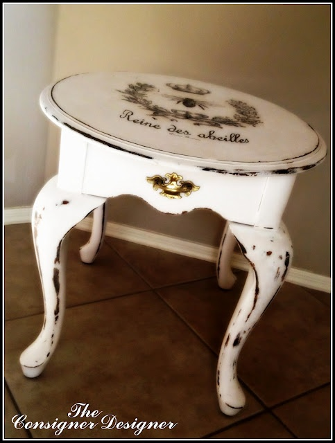 beautiful table from the consigner designer!