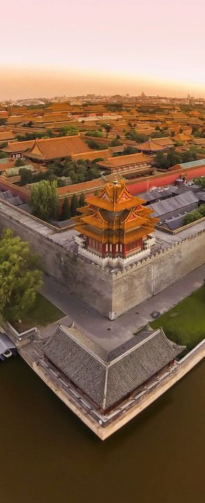 Ariel view of Forbidden City ~ Beijing, China Travel and #save 50% on airfare with #AirConcierge.com