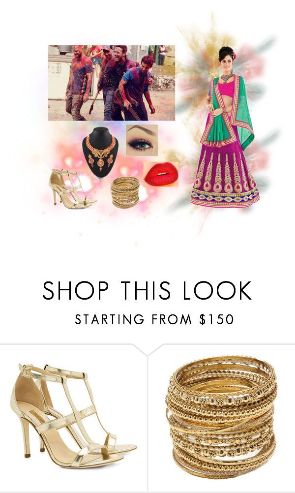 """Hymn For The Weekend"" by artemisa-538 ❤ liked on Polyvore featuring beauty, Dee Keller, Retrò, Amrita Singh, coldplay, india and concurso"