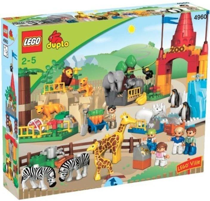 Lego Duplo 4960 Velká ZOO - 0