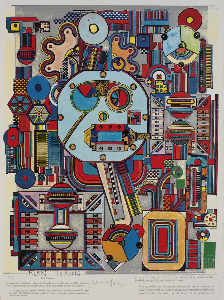 Eduardo Paolozzi print