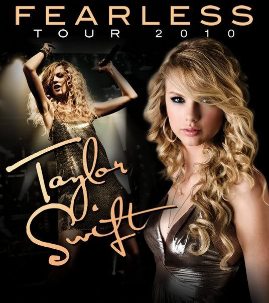 taylor swift concert posters | taylor-swift-fearless-concert-tour-poster-2010