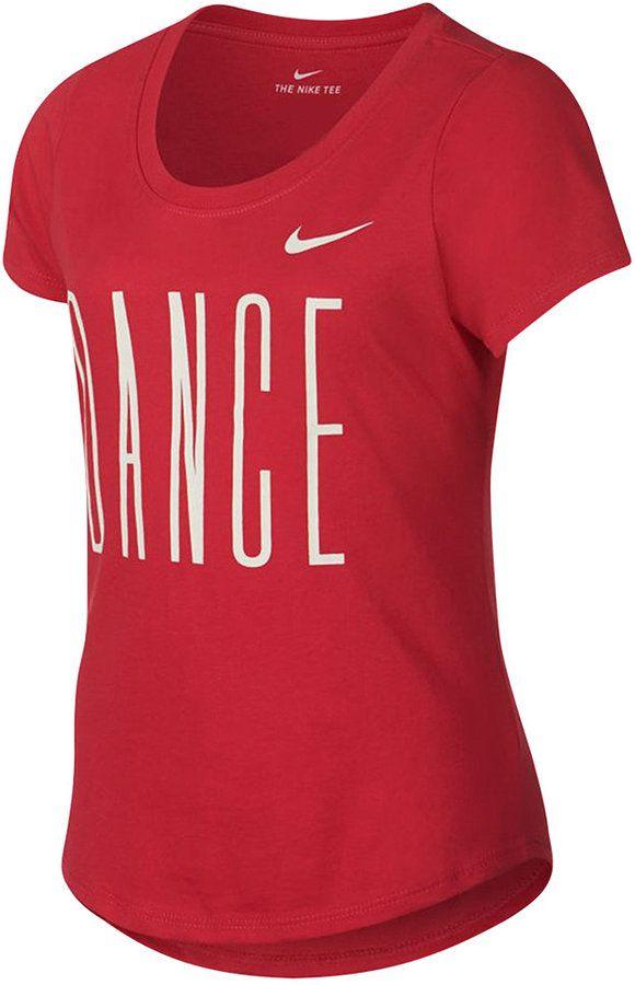 Nike Dri-fit Dance-Print T-Shirt, Big Girls (7-16)