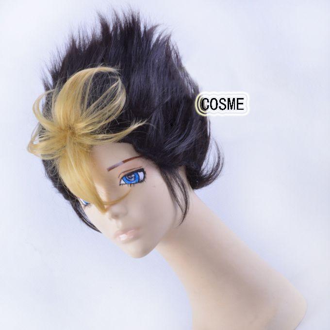 Бесплатная доставка аниме haikyuu! Karasuno средней школы волейбольный клуб Nishinoya юу косплей термостойкость дешевые парики волос