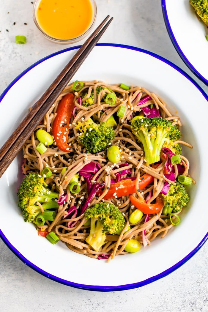 Soba Noodles With Edamame And Spicy Miso Sauce Recipe Soba