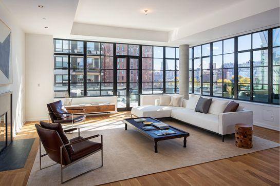 15 Absolutely Dreamy New York City Apartments  #refinery29  http://www.refinery29.com/nyc-dream-apartments#slide43  Neighborhood: ChelseaAddress: 508 West 24th Street, PHSPrice: $10.5 million