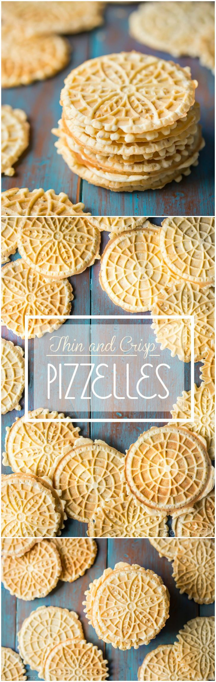 My search is over- this is the PERFECT pizzelle recipe! So thin, so light, so incredibly crisp, with plenty of authentic anise flavor. These are just like my great-aunt used to make- maybe even better!