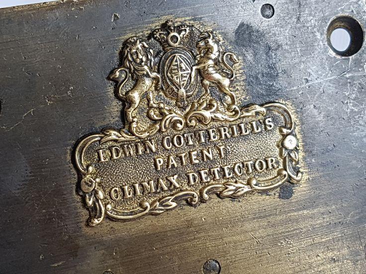Edwin Cotterill's Patent Climax Detector lock