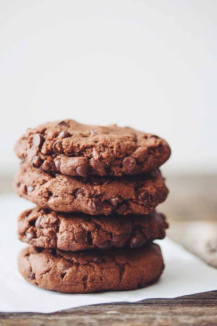 Dairy-Free Double Chocolate Cookies