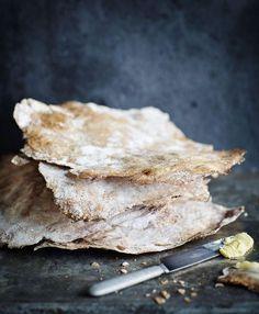 Näkkileivän resepti on versio Kotiruokaa-kirjan ohjeesta, vuoden 1930 painoksesta.