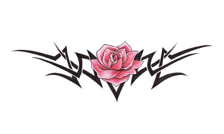 Tribal Rose Tattoos | ... Tribal Flame Free Gns And Rose Tattoo 1280x768 | #68443 #tribal flame