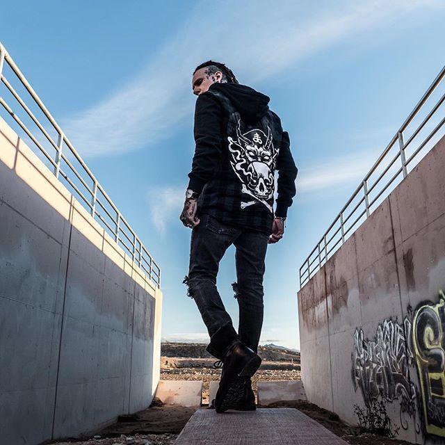 "CRMC X @lzhra ""Satan's Waitin'"" Checked Raglan Hood Available at www.crmc-clothing.co.uk | WE SHIP WORLDWIDE Model - Ryan Wreckless Photography by Archivalgrams #darkwear #blasphemy #blackwear #satan #checkedshirt #altfashion #alternative #occult #fashionstatement #hood #fashionista #skullandcrossbones #stylegram #checked #menwithtattoos #guyswithdreads #esoteric #hoody #hoodie #alternativeguy #alternativeboy #alternativegirl #alternativeteen #fashion #fashionblog #ryanwreckless"