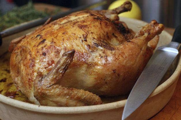 Julia Child's Classic Roast Chicken