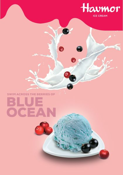 Have you tried our grand Flavour Of The Month, Blue Ocean Ice  cream?