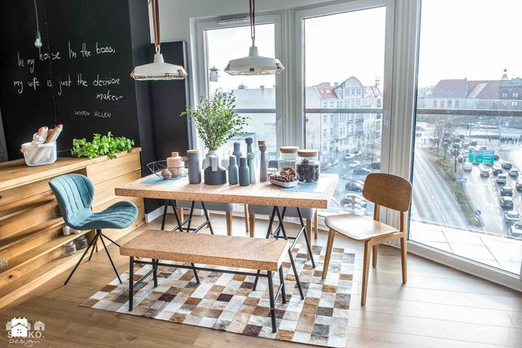 Woody ALL. by SHOKO.design - zdjęcie od SHOKO.design dining room inspiration | dining room design | inspiration | modern home | view