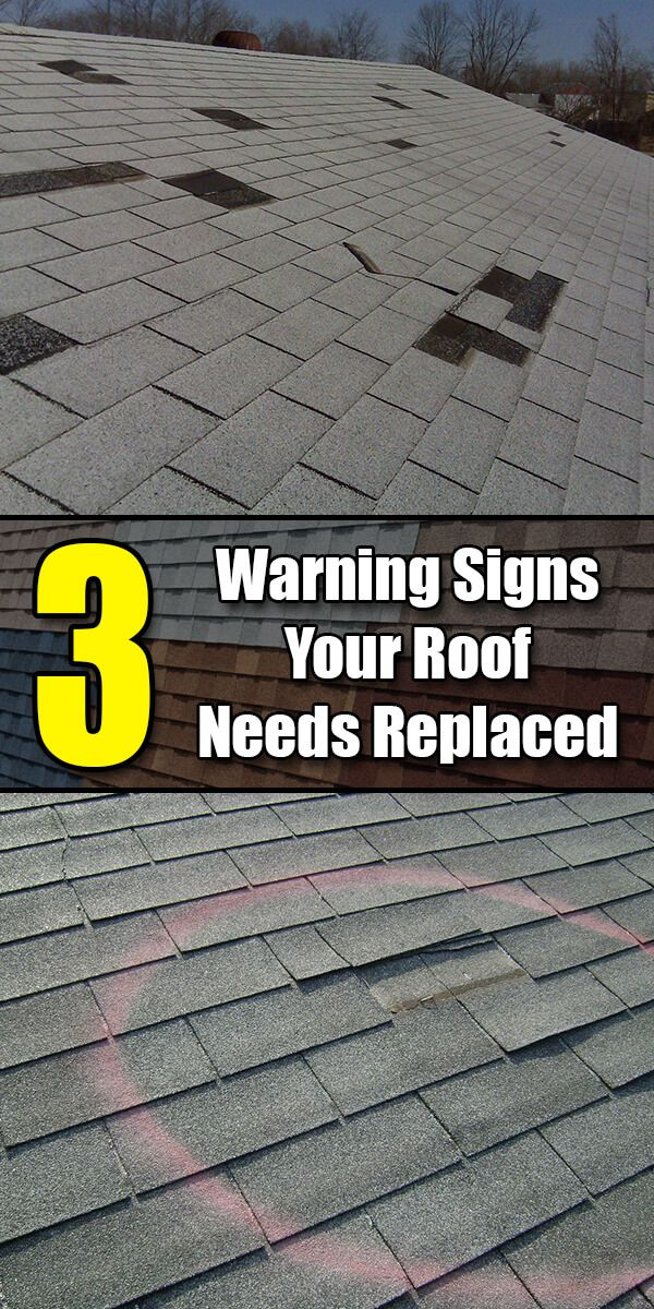 3 Warning Signs Your Roof Needs Replaced House Design Home Maintenance Home