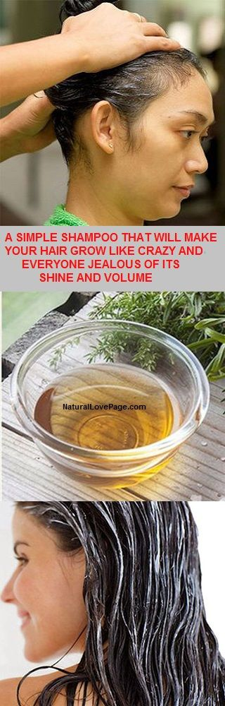 One Simple Shampoo Who Will Make Your Hair Grow Like Crazy And Everyone Will Be Jealous Of Your Shine And Volume
