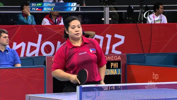 Table Tennis - BRA vs PHI - Women's Singles - Class 8 Group B - Qual. - ...