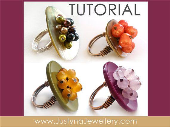 Button Jewelry Tutorial