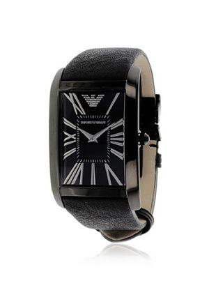 Emporio Armani Men's AR2060 Black Leather Watch