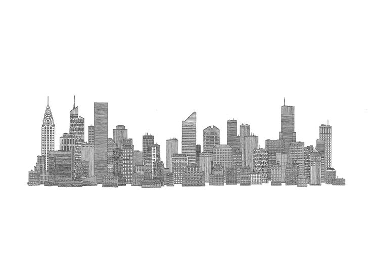 tissue box cover images city skyline sketch tumblr