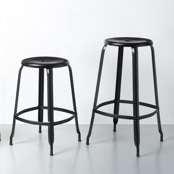 Nicolle Stool #barstool #steel #customised #colours #industrialstyle #madeinfrance #interiordesign