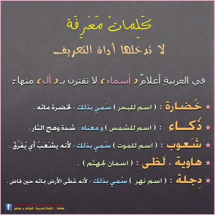 قيمة اللغة العربية