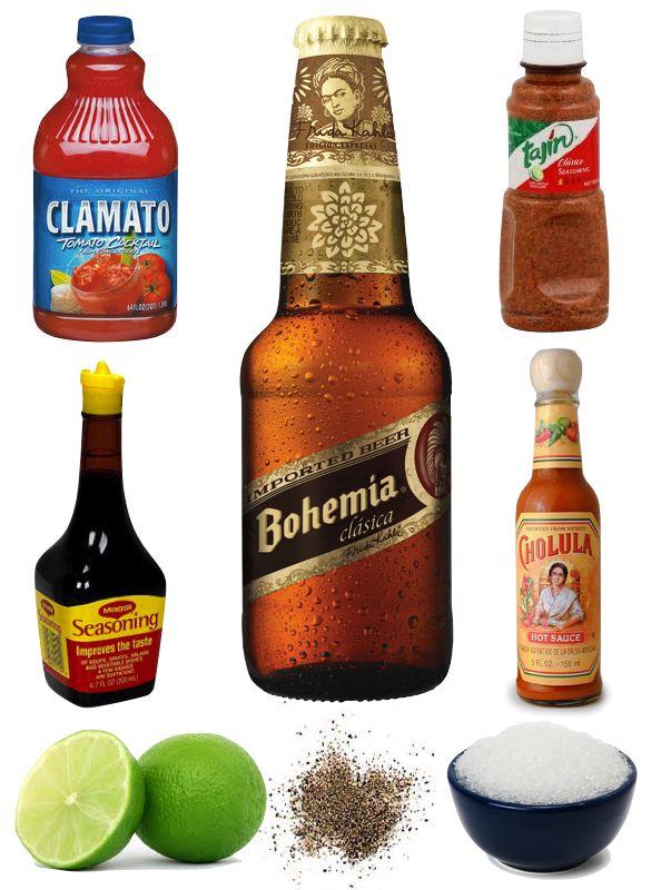 Michelada Recipe, Mexican Beer Cocktail, Hello Splendor, Pulp Design Studios, Beer Cocktail, Clamato, Tajin, Bohemia, Cholula, Maggi Seasoning