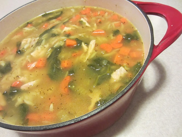 My Kitchen Adventures: Lemon Chicken Orzo Soup