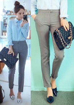 Today's Hot Pick :[パンツ]シンプルレディーススラックスパンツ【CHUU】 http://fashionstylep.com/SFSELFAA0014213/chuujp/out 程よい厚めなので季節の変わり目に履きやすいスラックスパンツです。 シンプルなストライトラインのデザインで、脚長効果も◎ ストレッチの効いた素材を使用し、 レッグラインを柔らかく包み込むので履き心地バツグンです♪ フォーマルシーンやオフィスカジュアルにぴったりのアイテムです☆ 定番のブラックから、グレー、清潔感のあるホワイトカラーまで 3色をご用意しております! S/Mの2サイズです。 身長によって着丈感が異なりますので下記の詳細サイズを参考にしてください。 ◆3色: アイボリー/グレー/ブラック