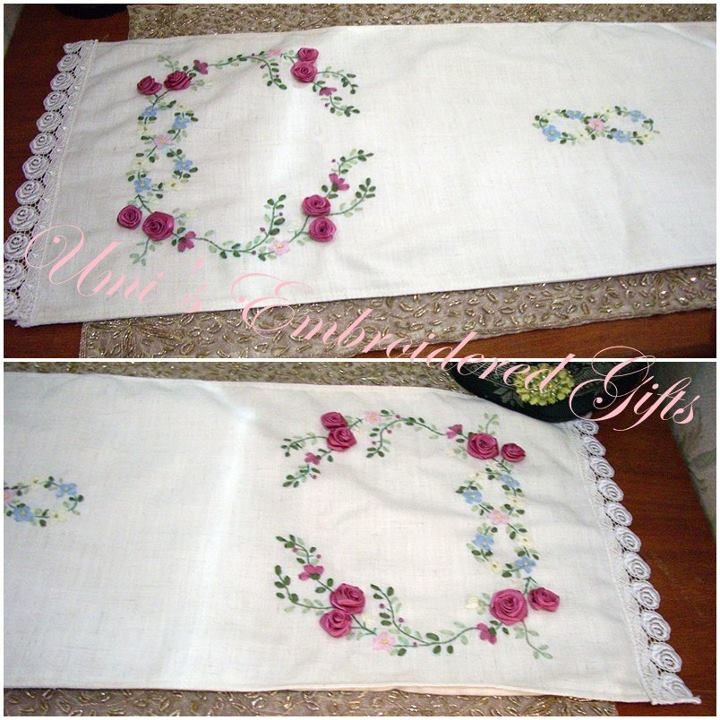 Ribbon Embroidery Designs Pinterest