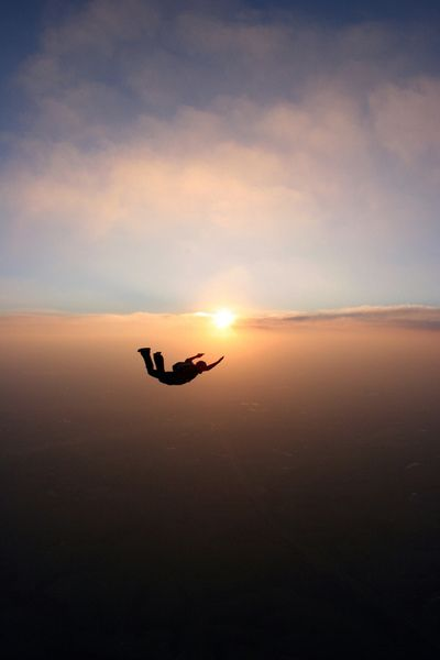 Skydive Sunset