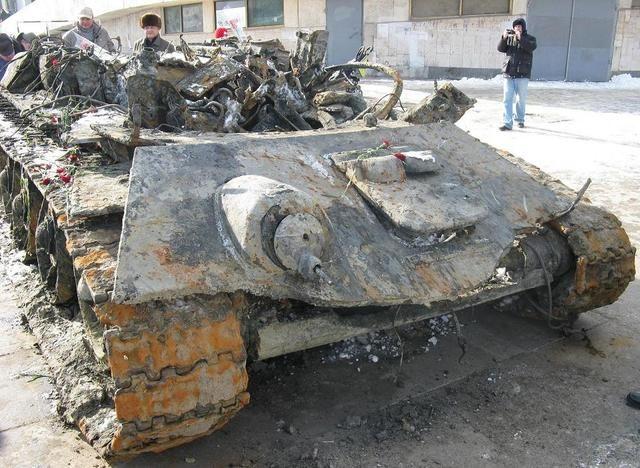 War Relics Re Tank T 34 76 Found Near Stalingrad