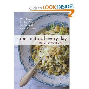 Super Natural Every Day: Well-loved Recipes from My Natural Foods Kitchen by Heidi Swanson. I LOVE this cookbook and HIGHLY recommend it!
