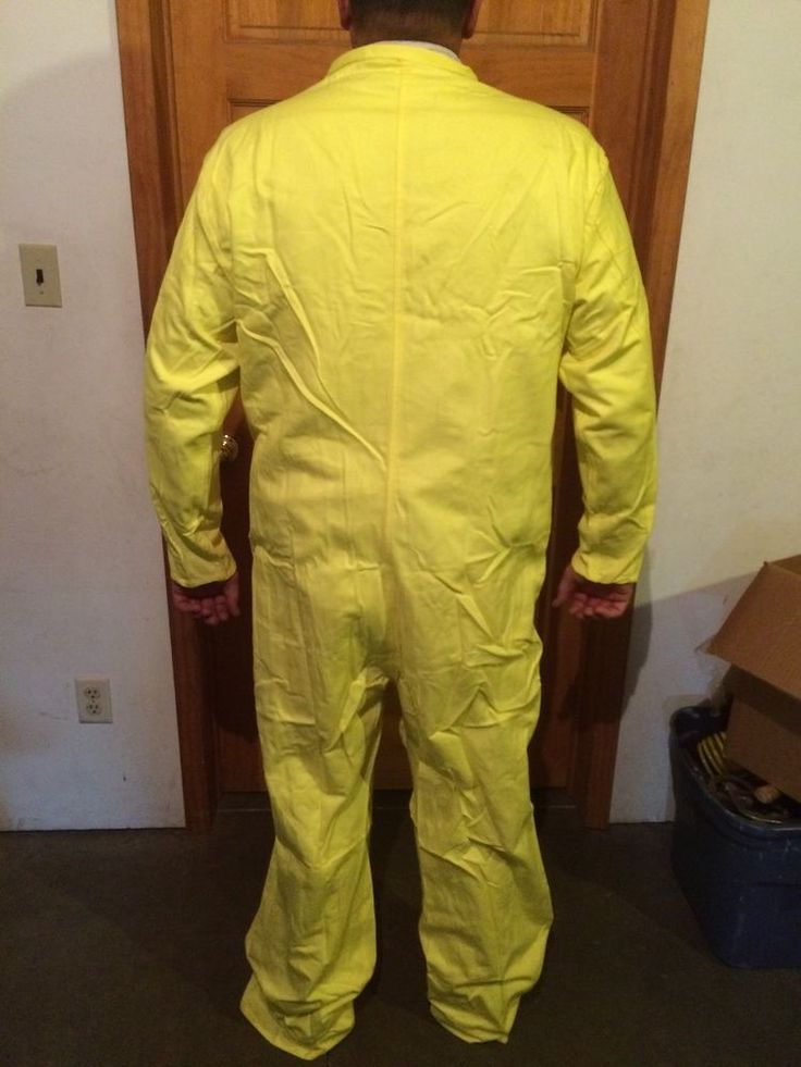 1 Nuclear Power Outfitters Size 40 MECHANICS COVERALLS Safety Yellow Zip Up NOS #NuclearPowerOutfitters