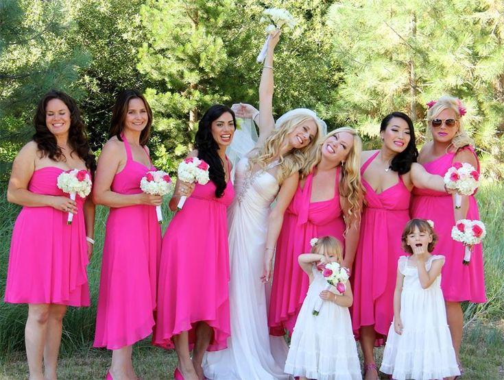 192 best wedding pinks images on pinterest wedding ideas wedding hot pink wedding theme junglespirit Image collections