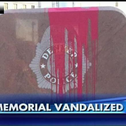 'I Really Felt Sick': Denver Police Memorial Vandalized Again
