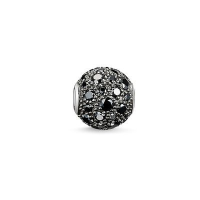 The magical sheen of the black #THOMASSABO #bead lends its wearer an enigmatic radiance.  #KARMA