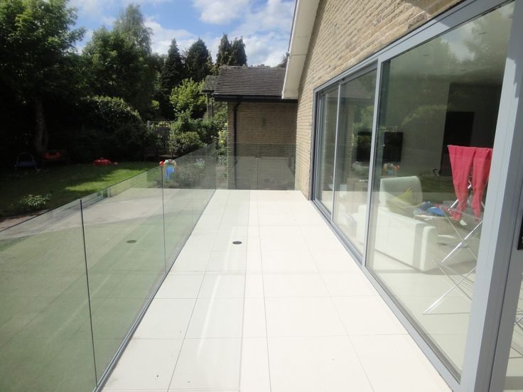Structural Glass Balcony with Hidden Fixings