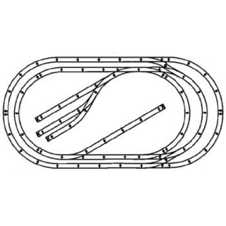 4x8 model railroad layouts with O Gauge Track Plans For Model Train Layouts on N Scale Layout Diagrams furthermore Model Train Track Layouts moreover Lionel Trains Track Layout as well 530369293598781337 together with 267893877810465772.