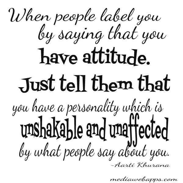 people with bad attitude quotes - photo #6