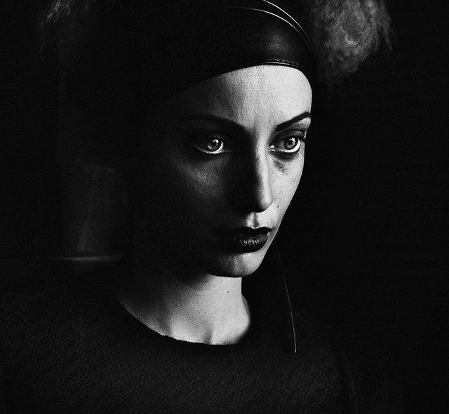 Photographer giulia muraglia black and white portraits