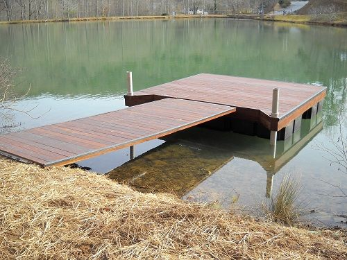 Build floating docks in virginia beach va paddle boat for Pond pier plans