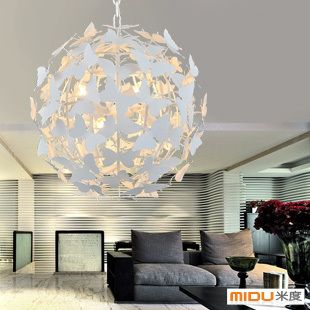 Aliexpress.com : Buy Modern fashion of luxury crystal lamp pendant light living room lights bedroom lamps butterfly pendant light on Angel Tears  lighting Co.,Ltd.. $481.43